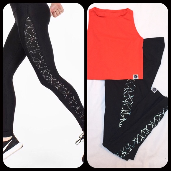 56a19c811e1fdb Greater Than Sports Pants | Gts Reflective Turbo Tights Nwot | Poshmark